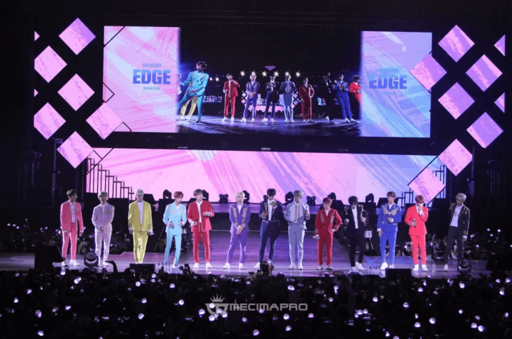 2017 SEVENTEEN 1ST WORLD TOUR 'DIAMOND EDGE' in JAKARTA
