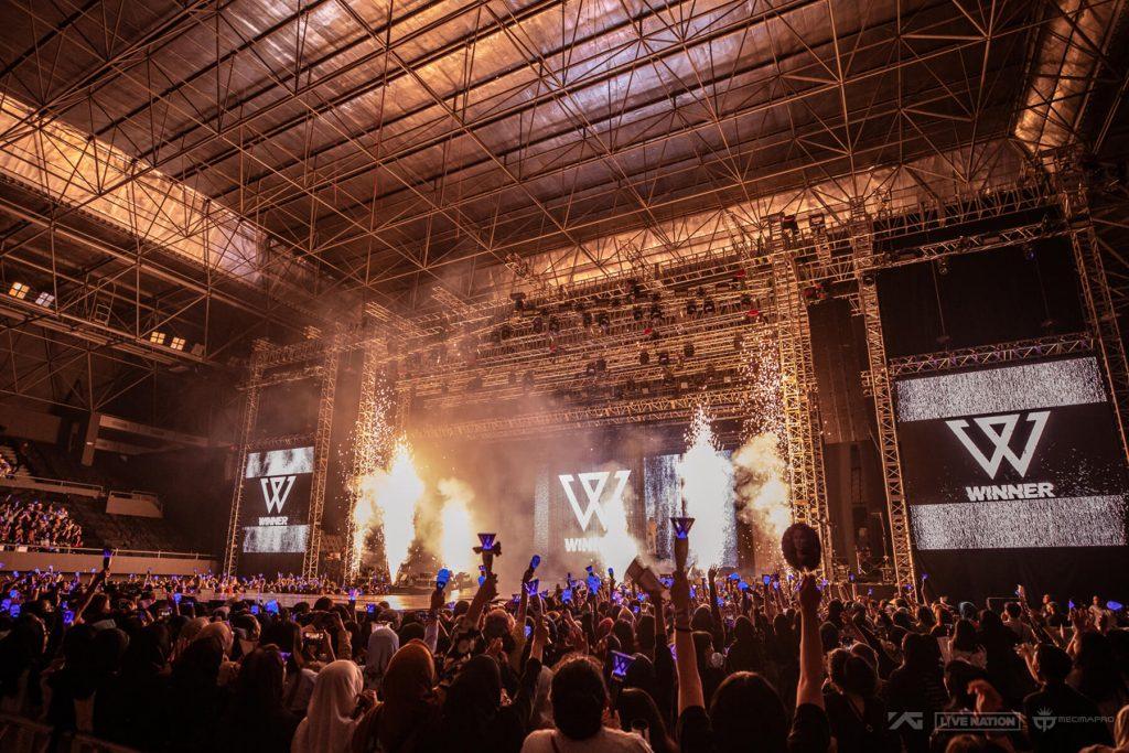 WINNER [CROSS] TOUR IN JAKARTA
