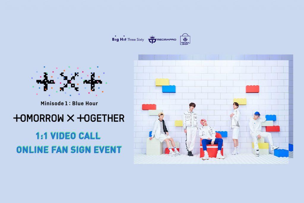 TXT 1:1 VIDEO CALL (Online Fan Sign) Event