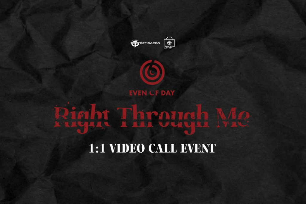 DAY6 (Even of Day) 'Right Through Me' 1:1 VIDEO CALL EVENT